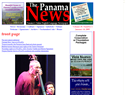 screenshot of Panama News - Online English Language Newspaper