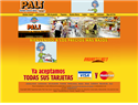 screenshot of Supermercados Pali de Costa Rica