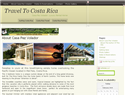 screenshot of Travel To Costa Rica - Mal Pais Rentals - Casa Pezvolado