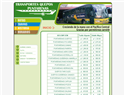 screenshot ofBus Schedules From Quepos to Puntarenas, Costa Rica