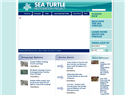 screenshot ofSea Turtles Restoration Project