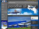 screenshot of Costa Rica Air Charters, Charter, Private, Domestic,  International Flights