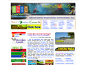 screenshot of Costa Rica Travel Packages - Tours and Traveling