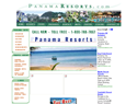 screenshot of PANAMARESORTS.COM - Resorts in Panama