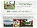 screenshot of La Quintana - Costa Rica Bed and Breakfast -  Alajuela