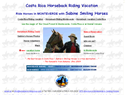 screenshot of Costa Rica Horseback Riding Vacation - Monteverde