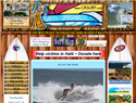 screenshot of Costa Rica Surf Report and Forecast